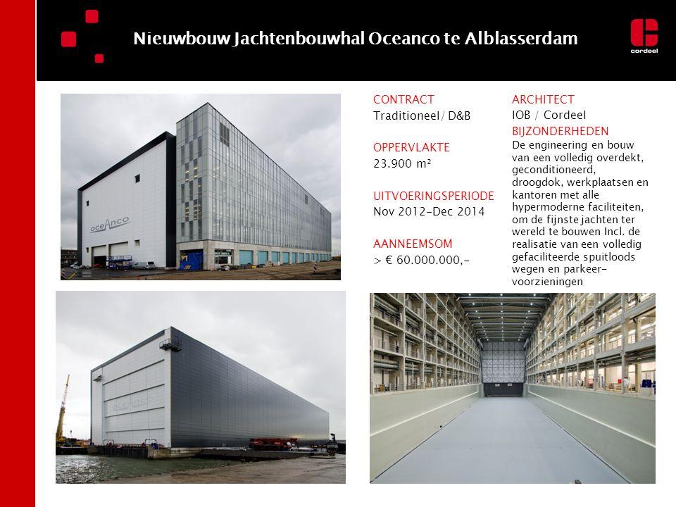 Nieuwbouw Jachtenbouwhal Oceanco te Alblasserdam
