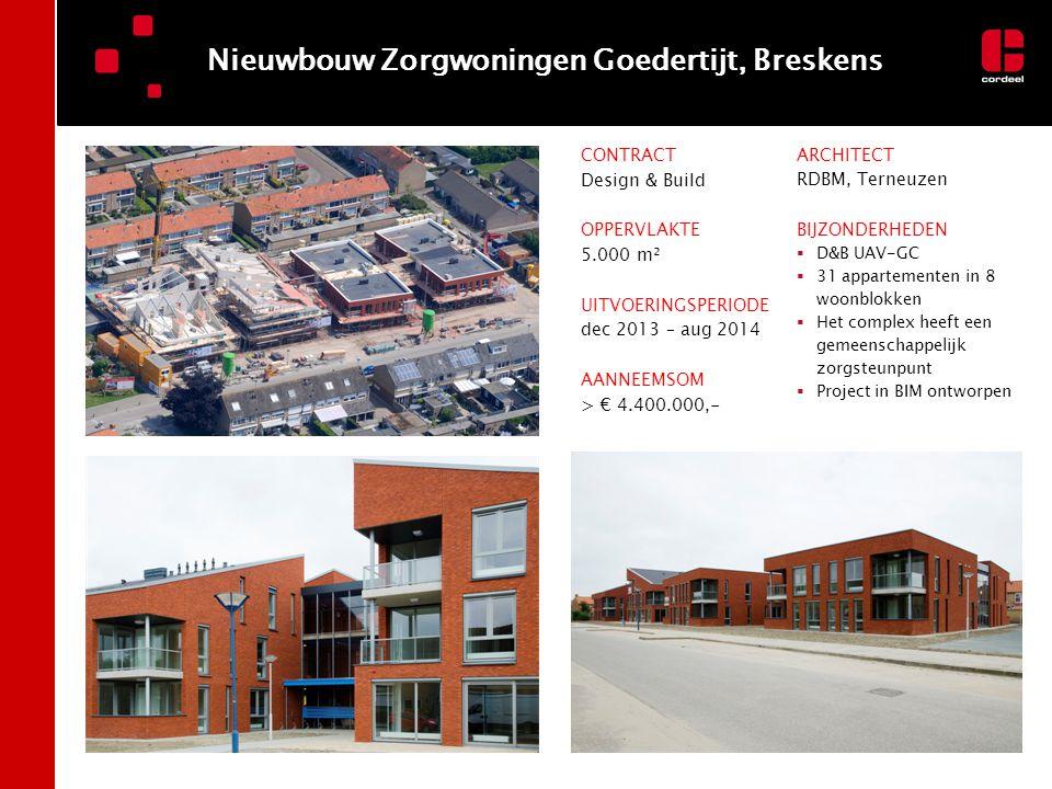 Nieuwbouw Zorgwoningen Goedertijt, Breskens