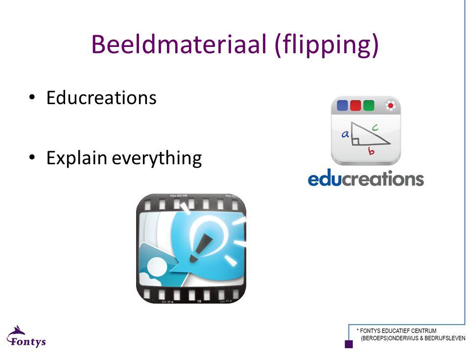 Beeldmateriaal (flipping)