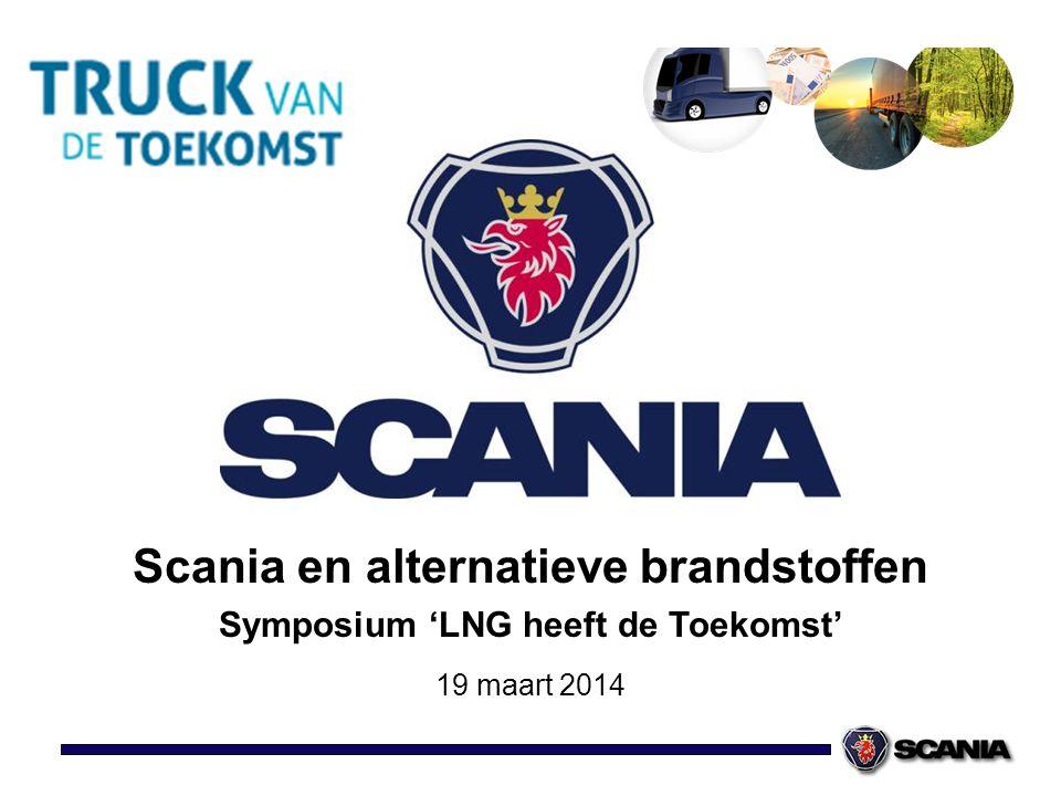 Scania en alternatieve brandstoffen Symposium 'LNG heeft de Toekomst'