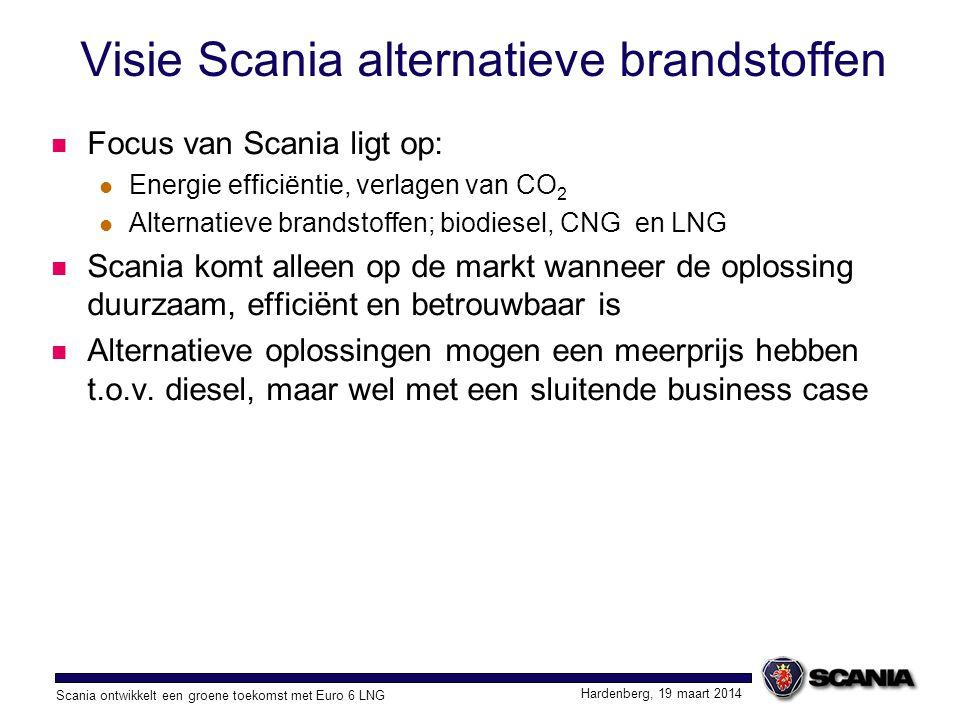 Visie Scania alternatieve brandstoffen