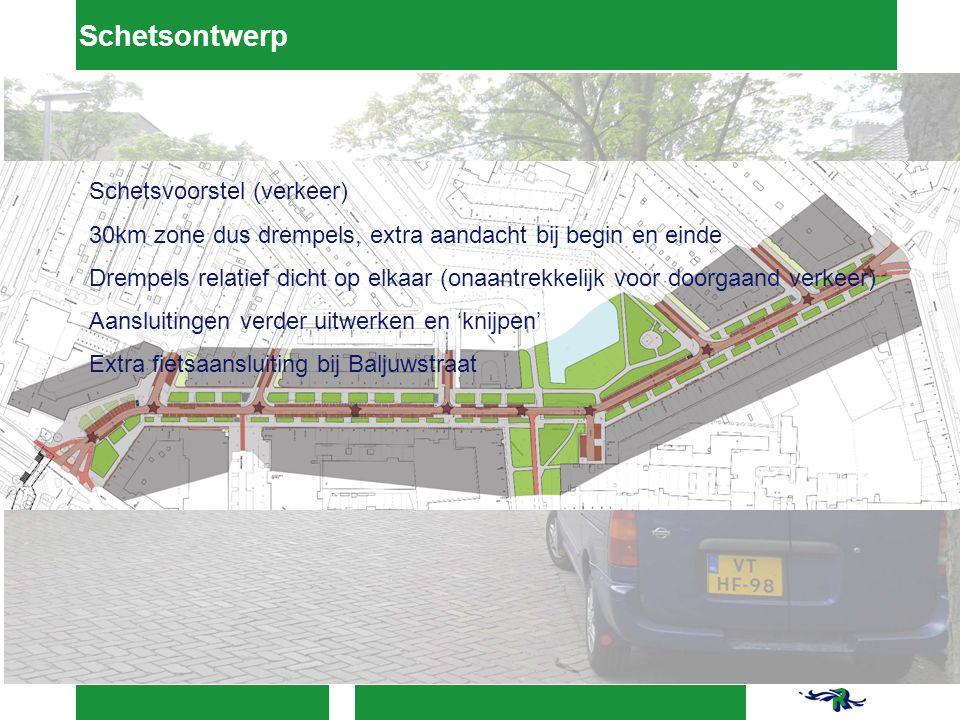 Schetsontwerp Schetsvoorstel (verkeer)