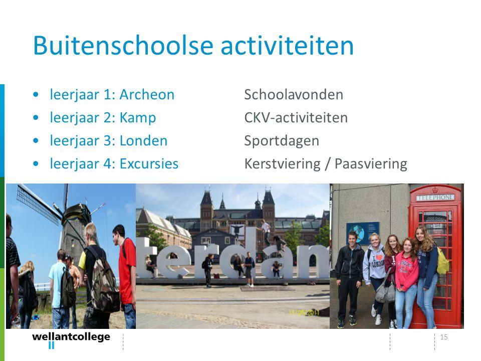 Buitenschoolse activiteiten