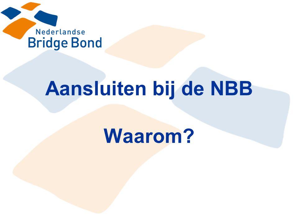 Aansluiten bij de NBB Waarom