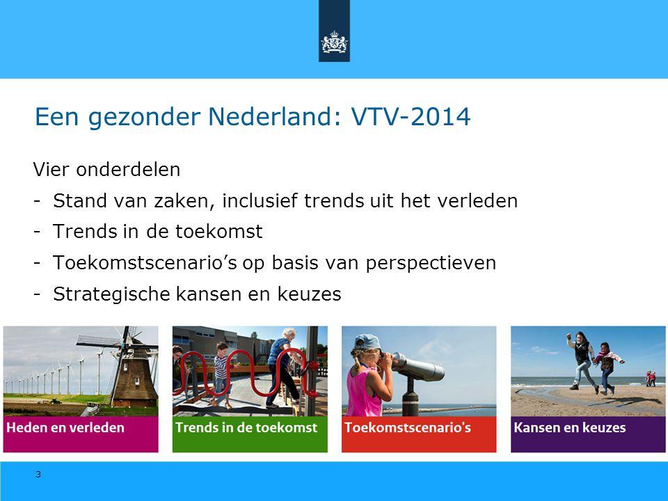 Een gezonder Nederland: VTV-2014