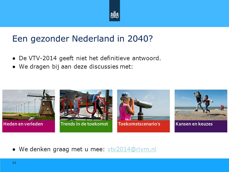 Een gezonder Nederland in 2040