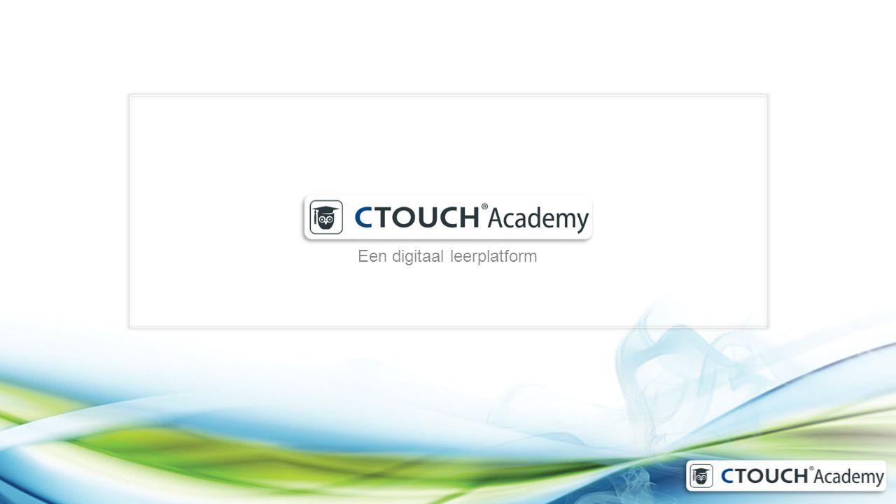 Een digitaal leerplatform