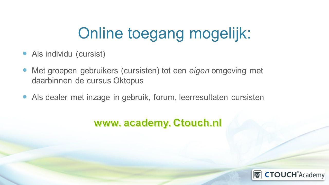 Online toegang mogelijk: