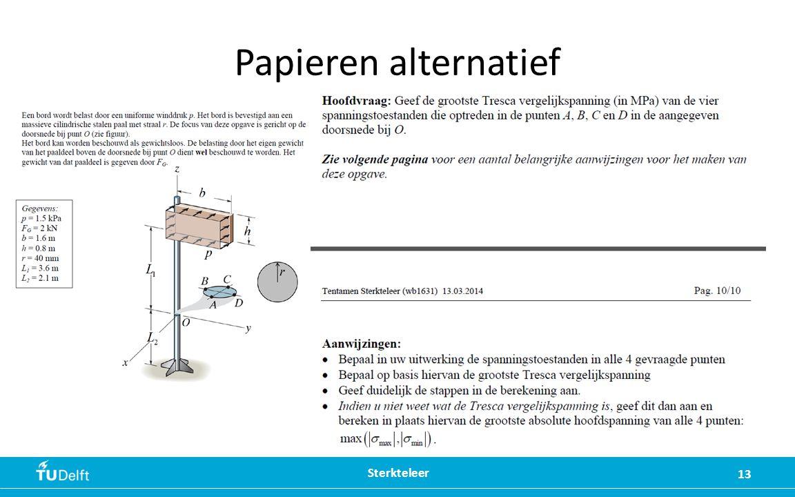 Papieren alternatief