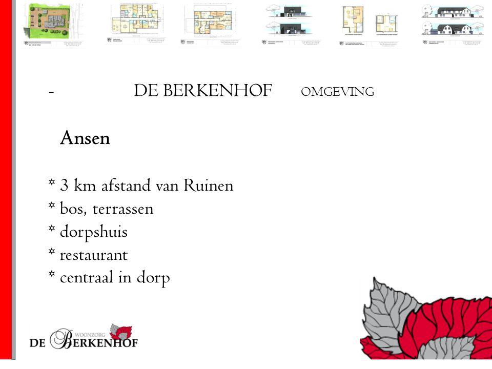 Ansen DE BERKENHOF OMGEVING