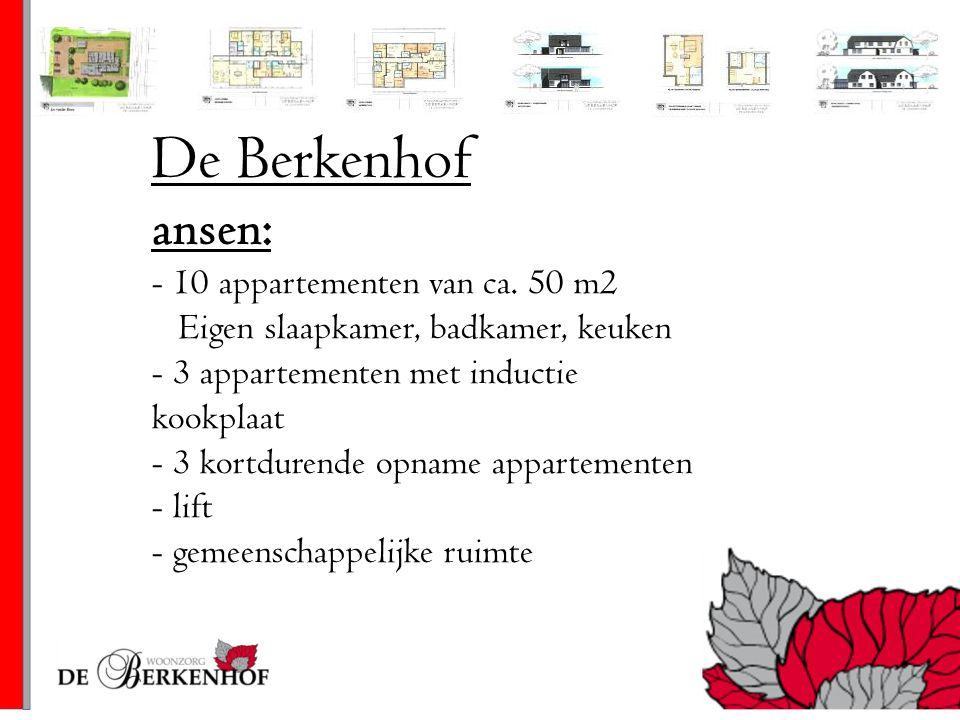 De Berkenhof ansen: