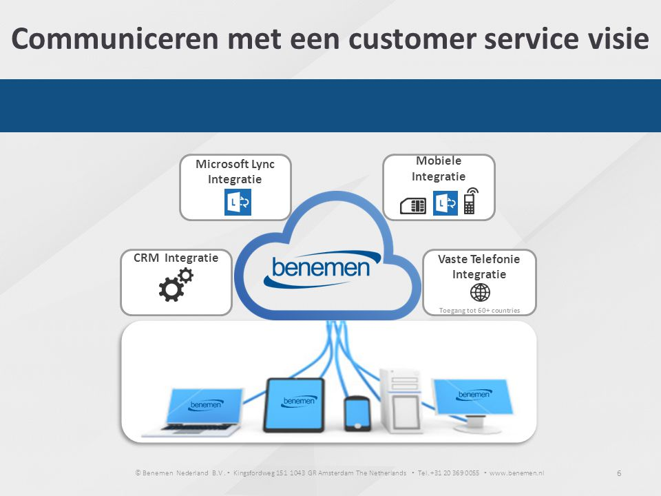 Communiceren met een customer service visie