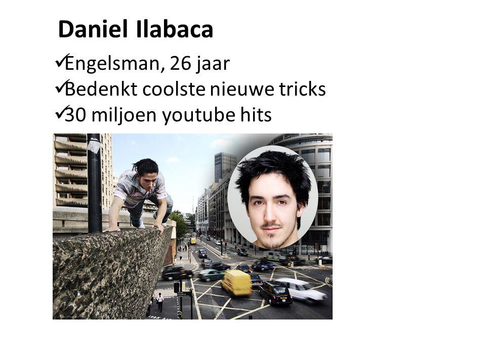 Daniel Ilabaca Engelsman, 26 jaar Bedenkt coolste nieuwe tricks