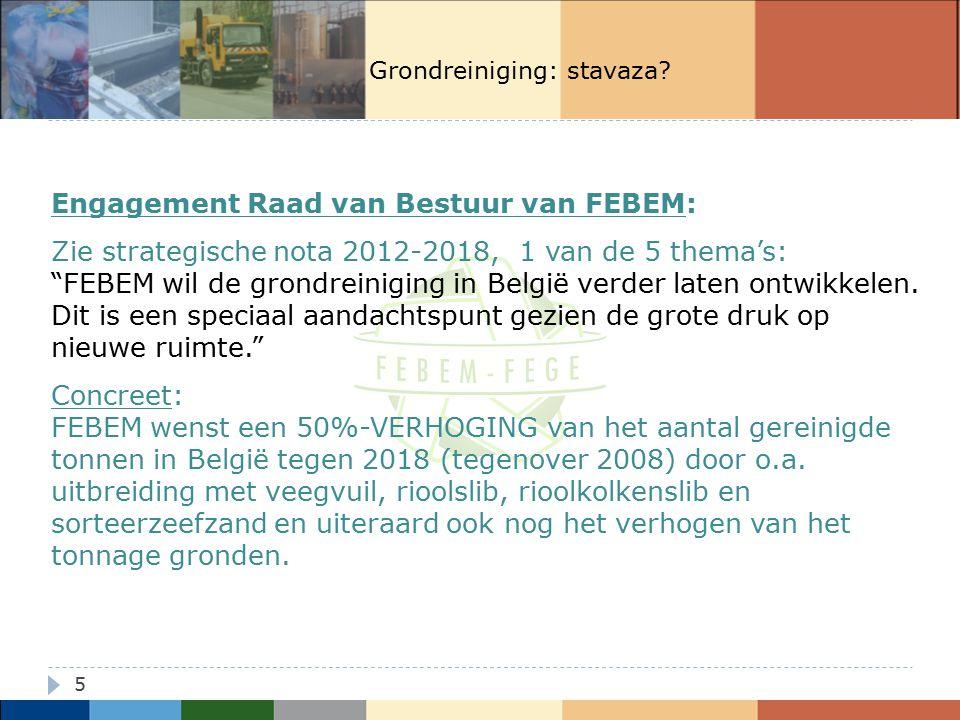 Engagement Raad van Bestuur van FEBEM: