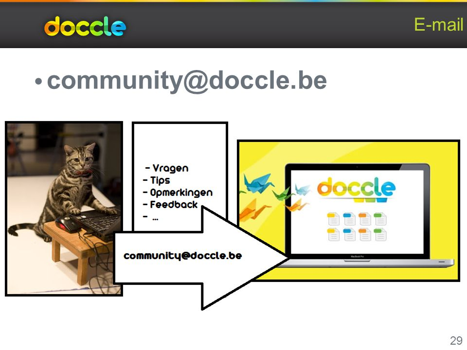 E-mail community@doccle.be