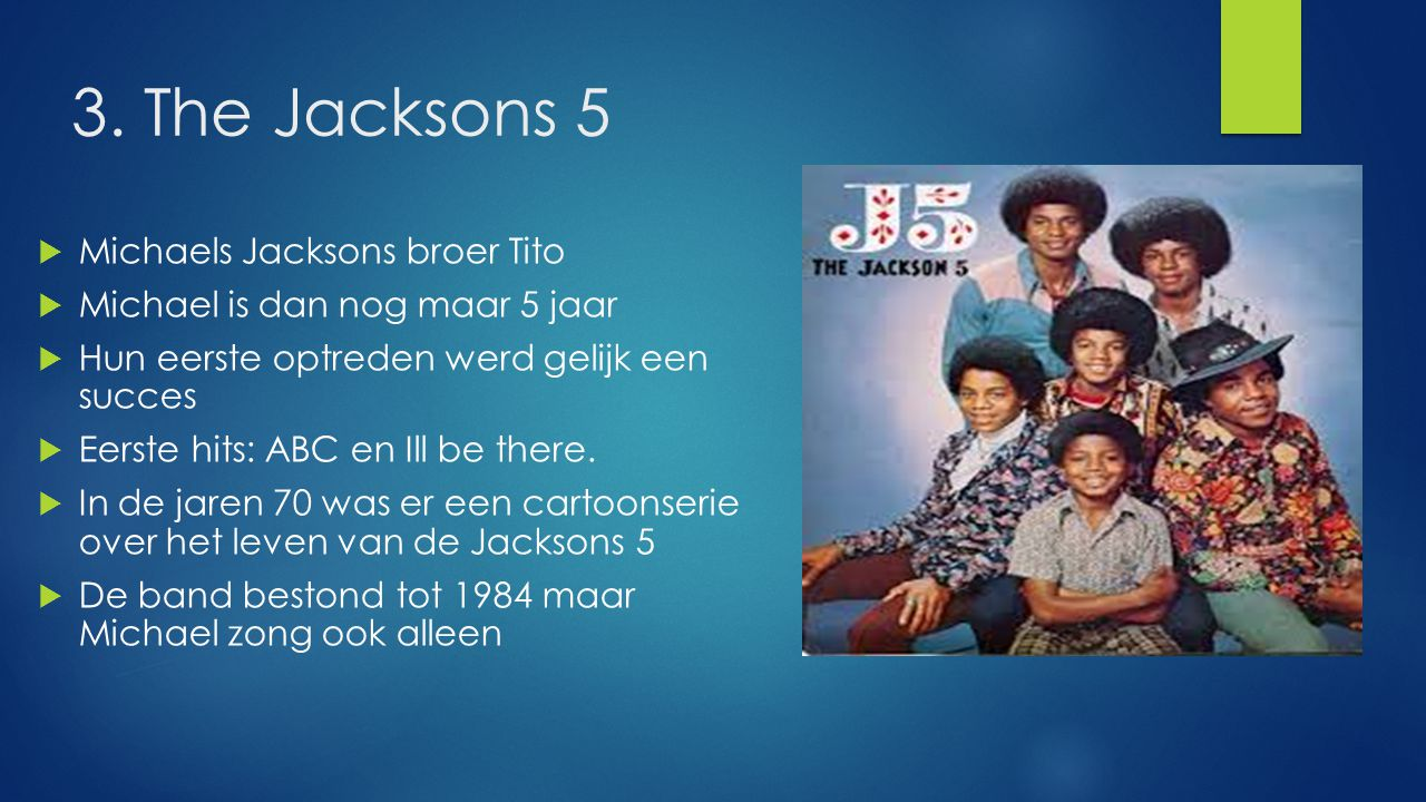 3. The Jacksons 5 Michaels Jacksons broer Tito