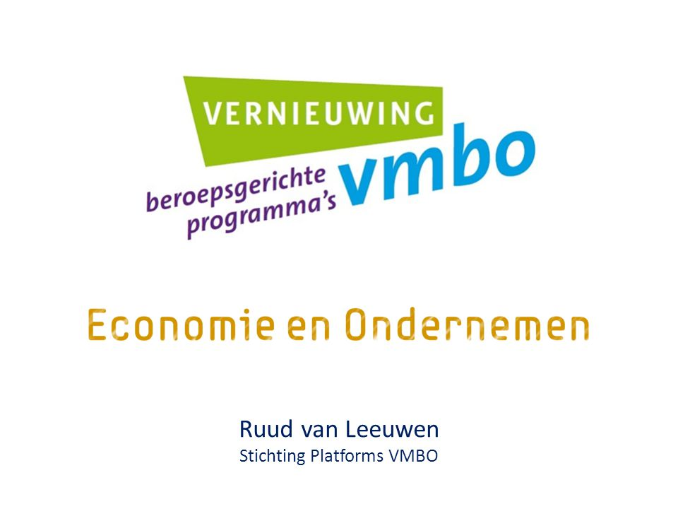 Stichting Platforms VMBO