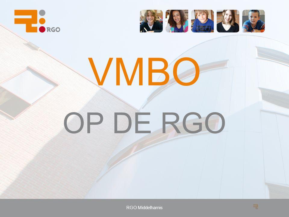 VMBO OP DE RGO RGO Middelharnis