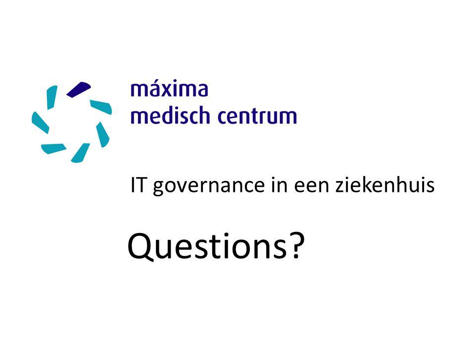 IT governance in een ziekenhuis