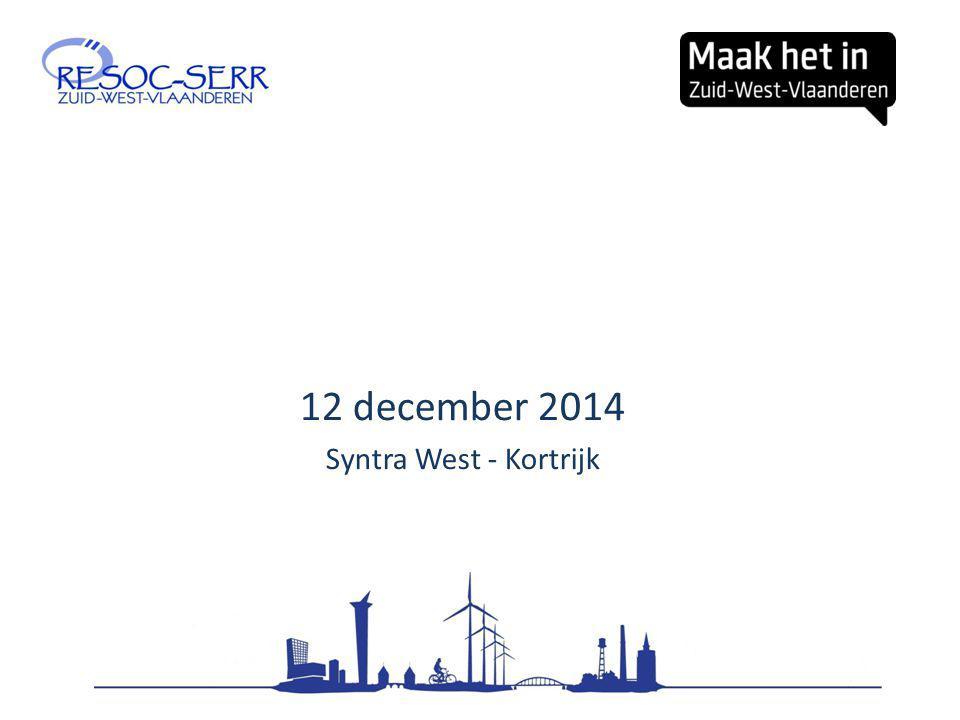 12 december 2014 Syntra West - Kortrijk