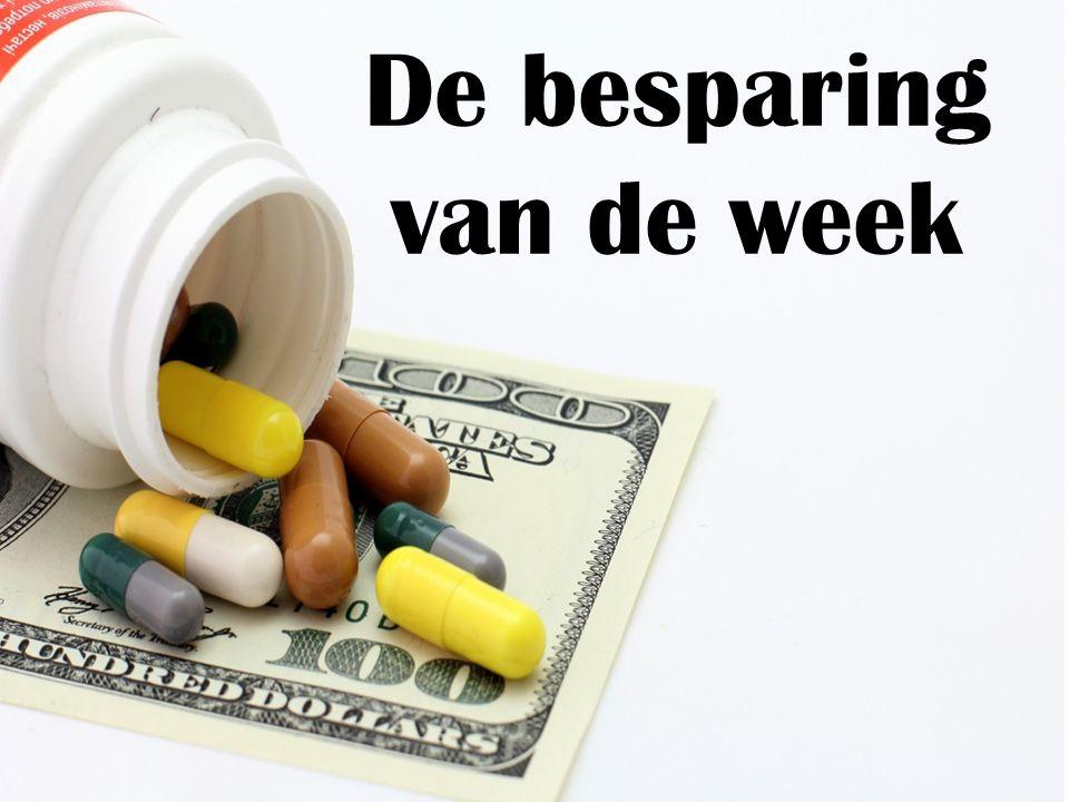 De besparing van de week