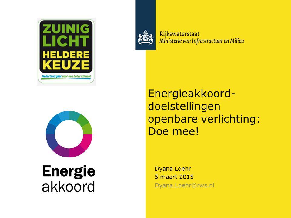 Energieakkoord-doelstellingen openbare verlichting: Doe mee!