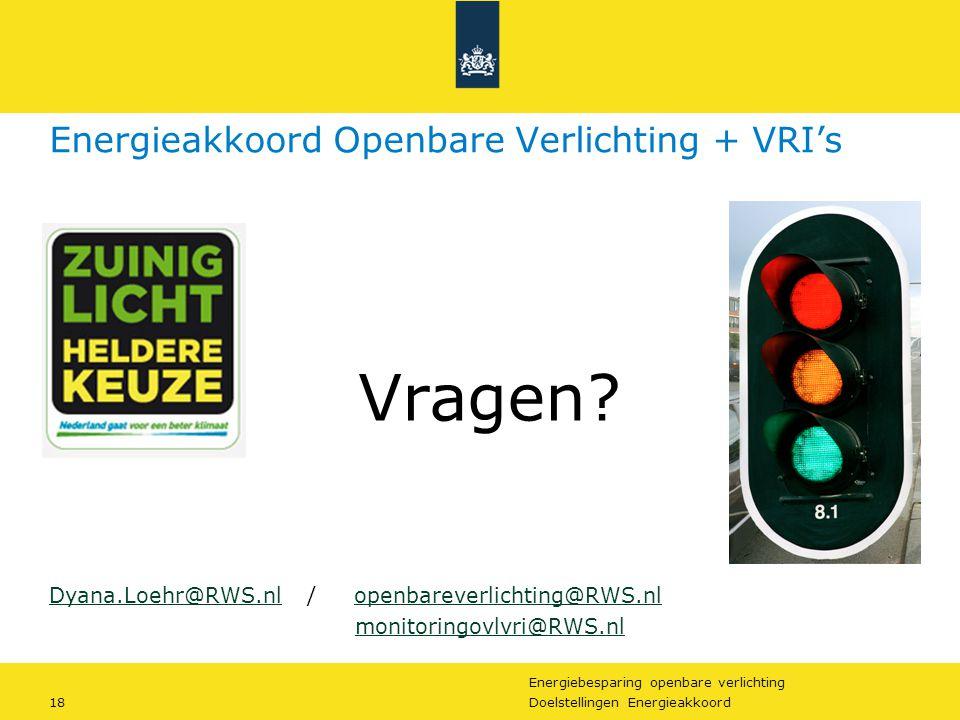 Energieakkoord Openbare Verlichting + VRI's