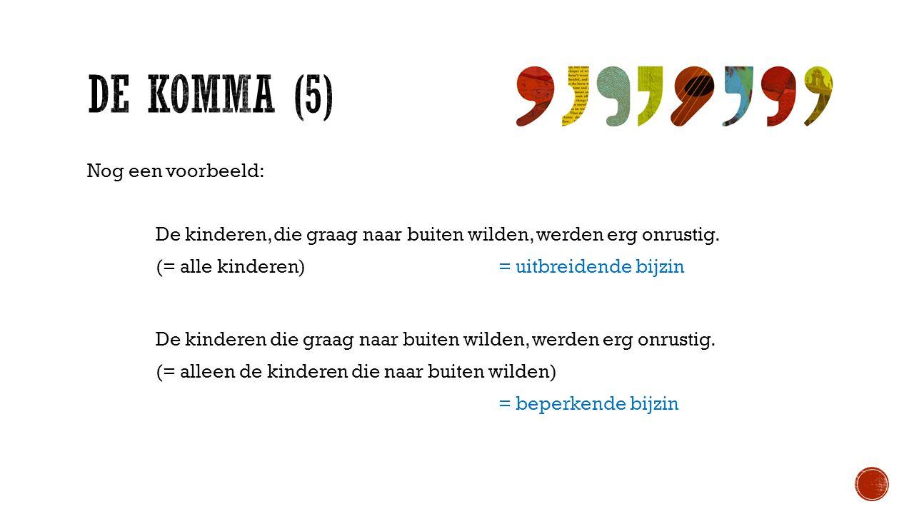 De KOMMA (5)