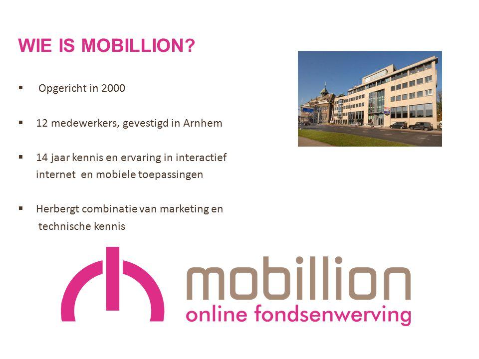 Wie is mobillion Opgericht in 2000