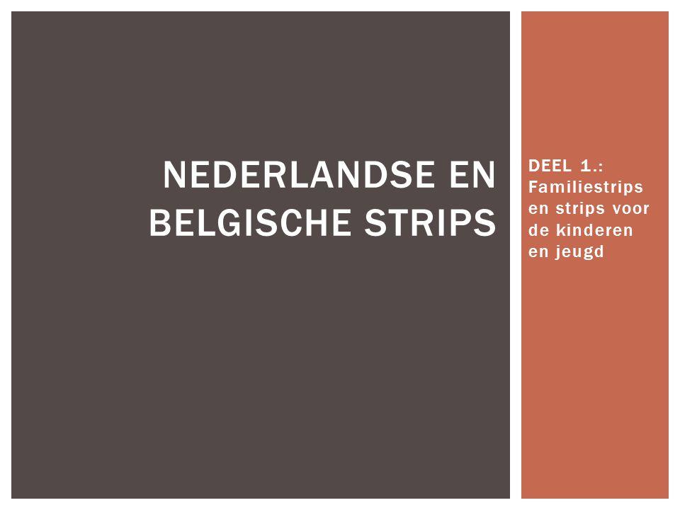 Nederlandse en Belgische strips