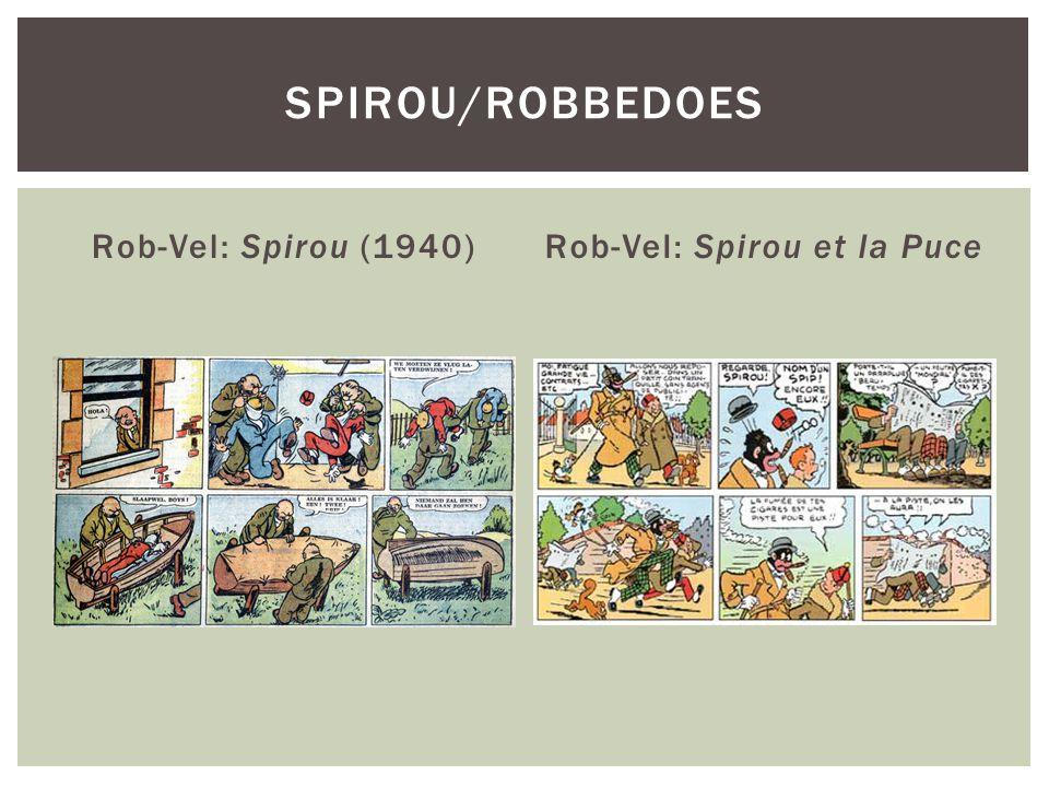 Rob-Vel: Spirou et la Puce