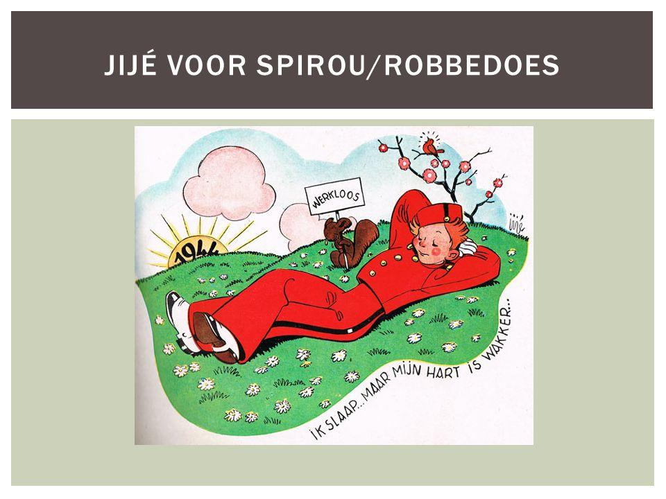Jijé voor spirou/robbedoes