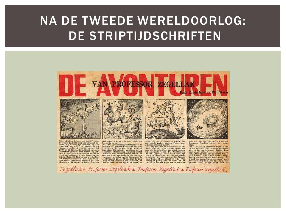 Na de tweede wereldoorlog: De striptijdschriften