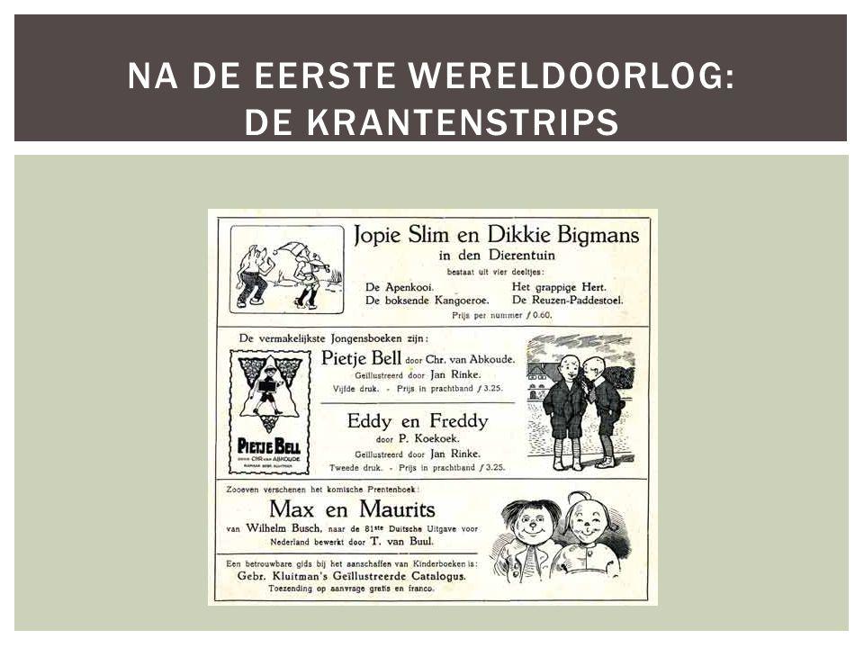 Na de eerste wereldoorlog: De krantenstrips