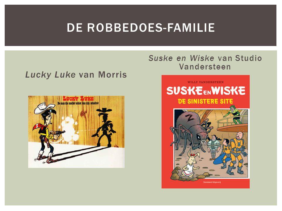 Suske en Wiske van Studio Vandersteen