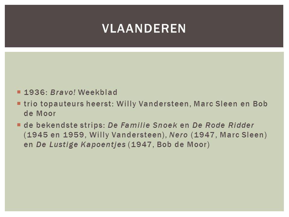 vlaanderen 1936: Bravo! Weekblad