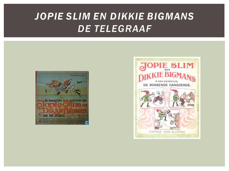 Jopie Slim en Dikkie Bigmans De Telegraaf