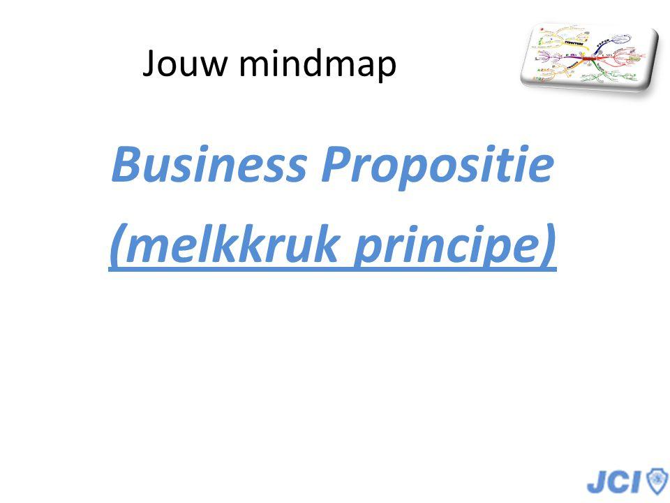Business Propositie (melkkruk principe)