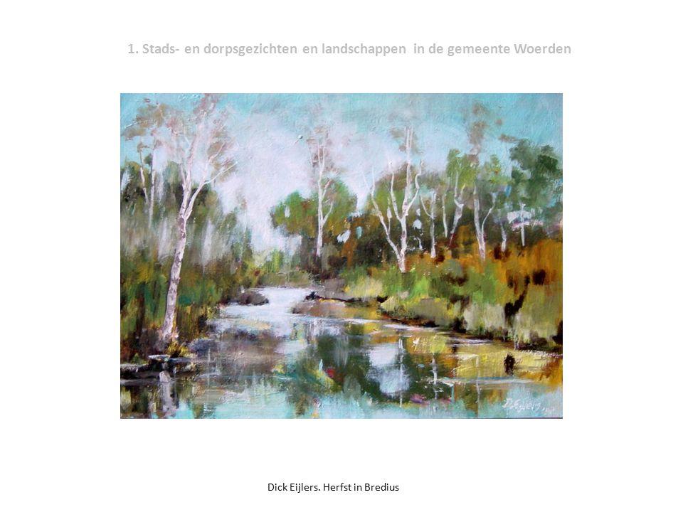 1. Stads- en dorpsgezichten en landschappen in de gemeente Woerden