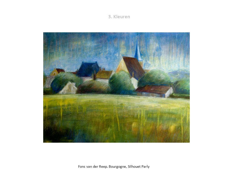 Fons van der Reep. Bourgogne, Silhouet Parly