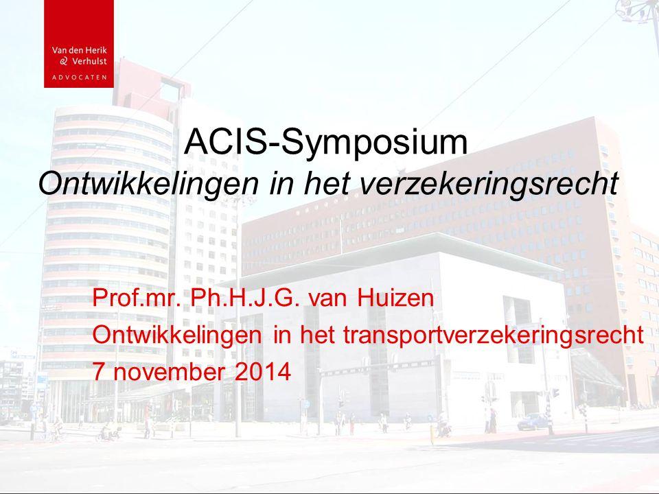 ACIS-Symposium Ontwikkelingen in het verzekeringsrecht