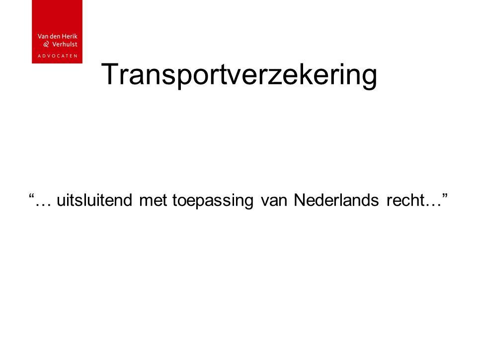 Transportverzekering