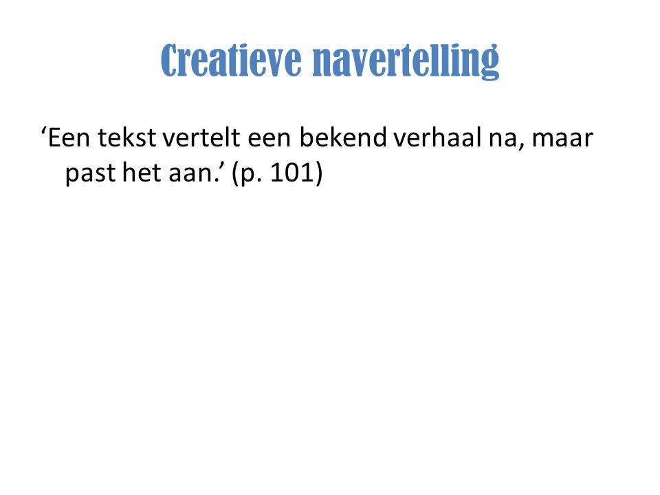 Creatieve navertelling