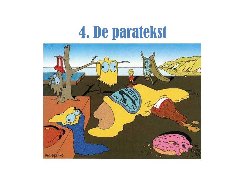 4. De paratekst