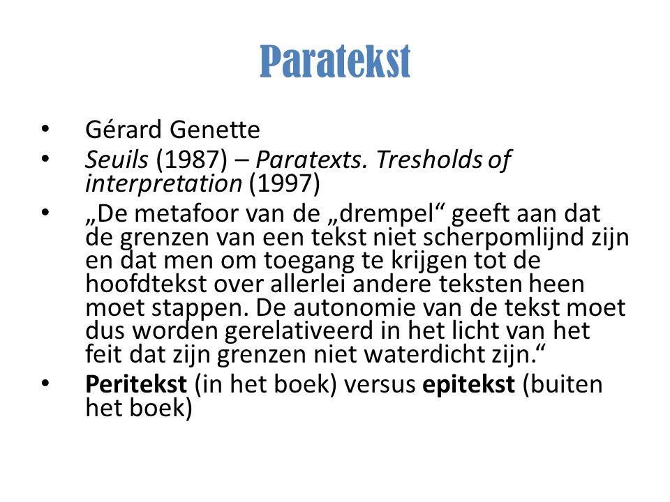 Paratekst Gérard Genette