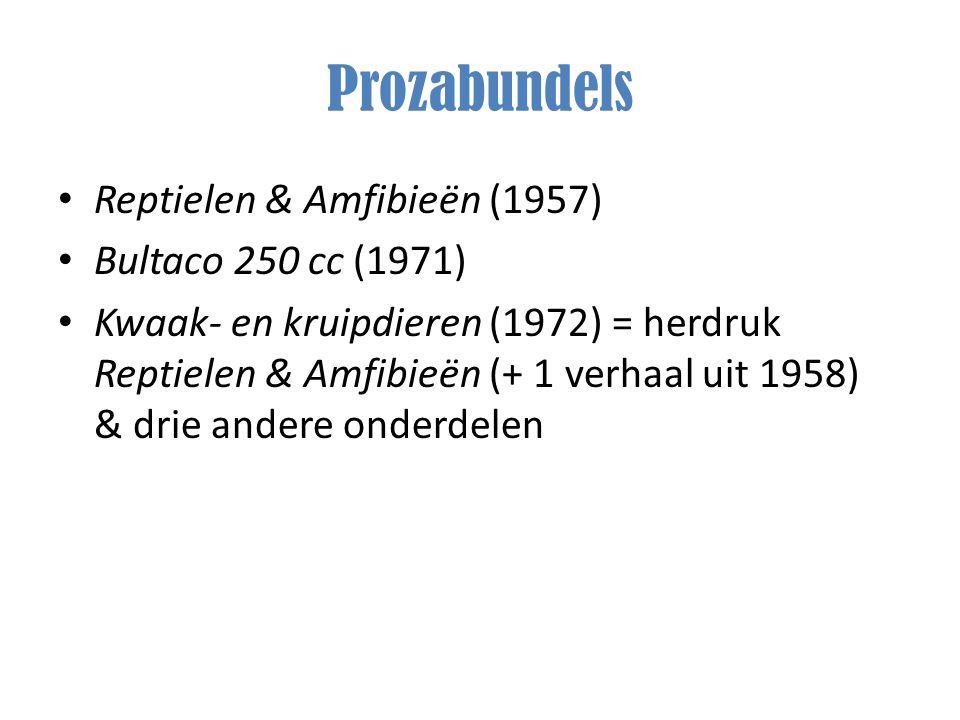 Prozabundels Reptielen & Amfibieën (1957) Bultaco 250 cc (1971)