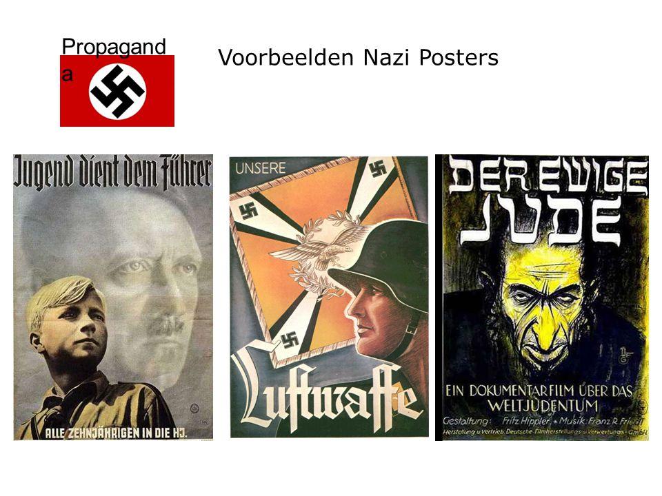 Voorbeelden Nazi Posters