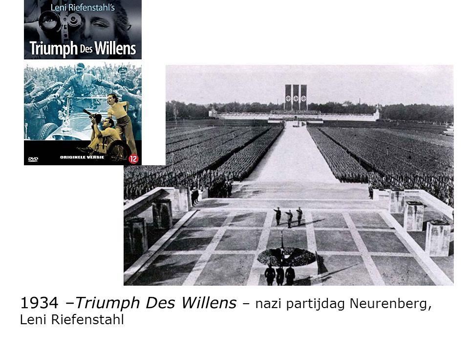 1934 –Triumph Des Willens – nazi partijdag Neurenberg,