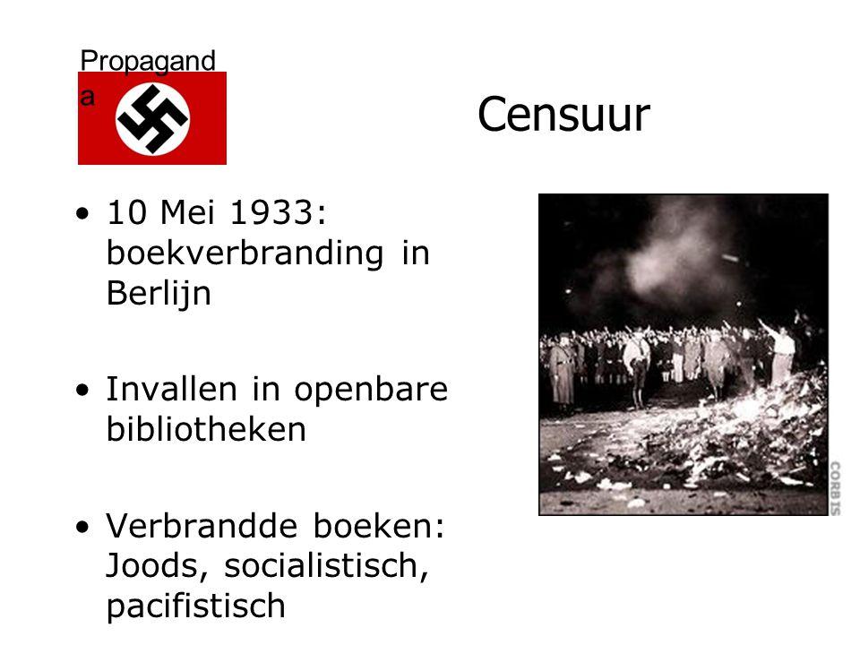 Censuur 10 Mei 1933: boekverbranding in Berlijn