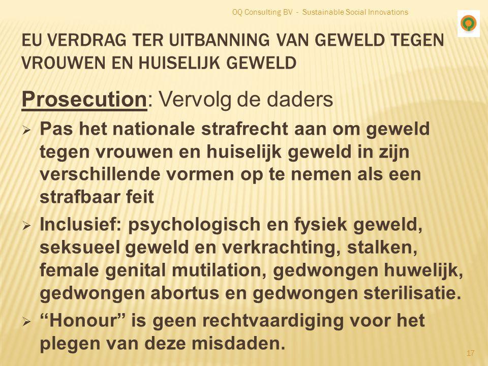EU verdrag ter uitbanning van geweld tegen vrouwen en huiselijk geweld